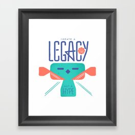 Legacy Framed Art Print