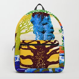 If A Tree Falls In Sicily Color 2 Backpack
