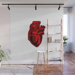 Grenade Heart Wall Mural