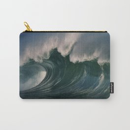 Winter Waves At Waimea Bay 2 Carry-All Pouch