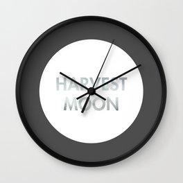 Harvest Moon (Celtic) Wall Clock