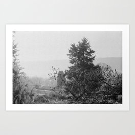 wave hill Art Print