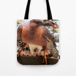 Al the Cooper's Hawk 2 Tote Bag