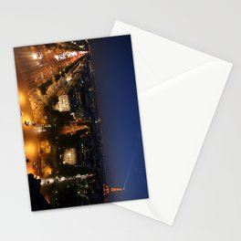 Paris from the Arc Stationery Cards
