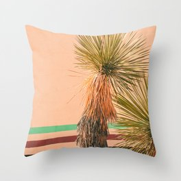 Desert Vintage Throw Pillow