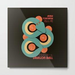 Dragon Ball, japanese print, Toriyama, manga wall art, Son Goku poster Metal Print