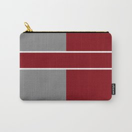 Team Color 6....gray,maroon Carry-All Pouch