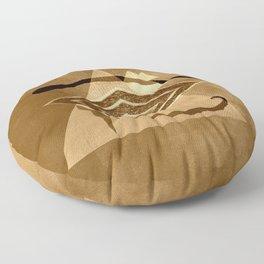 Egyptian eye Floor Pillow