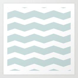 Waves sky Art Print