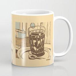 Blue coffee Coffee Mug