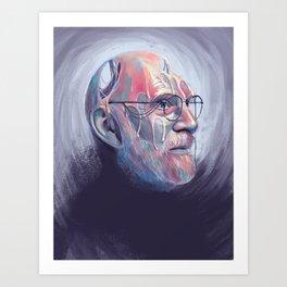 Oliver Sacks Art Print