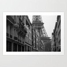 Et voilà la tour Art Print