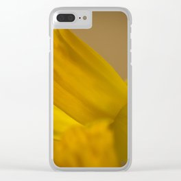 Daffodil. Clear iPhone Case