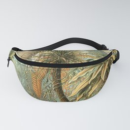 Vintage Tropical Palm Fanny Pack