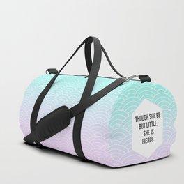 She Is Fierce Duffle Bag