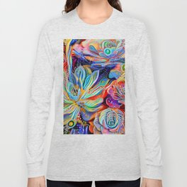 Escheveria Delight Long Sleeve T-shirt