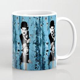 Chaplin and the kid - Urban ART Coffee Mug