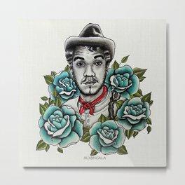 "Mario Moreno ""Cantinflas"" Portrait Metal Print"