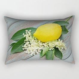 Fresh lemon and elderflower Rectangular Pillow