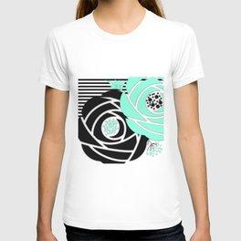 Abstract roses 4 T-shirt