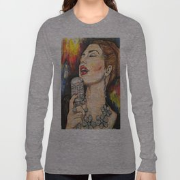 Jazz Singer 3 Long Sleeve T-shirt