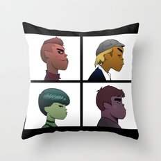 Garage Days Throw Pillow