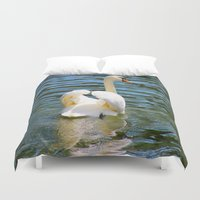 wings Duvet Covers featuring Wings by NaturallyJess