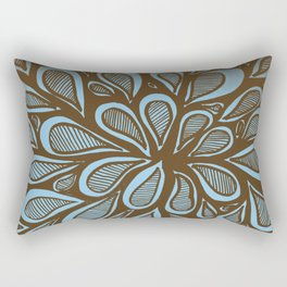 Abstract Zendoodle Warhol Style Rectangular Pillow
