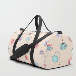 Tea Time Duffle Bag