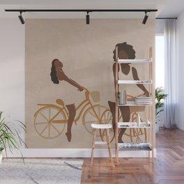 Biking (minimal) Wall Mural
