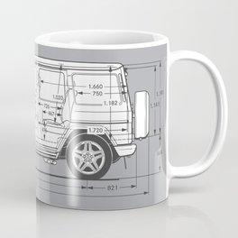 Blueprint coffee mugs society6 gwagon blueprint coffee mug malvernweather Choice Image