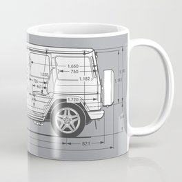 GWAGON BLUEPRINT Coffee Mug