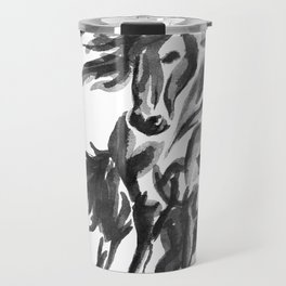 Sumi Horse Travel Mug
