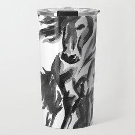 Sumi Horse Travel Mug