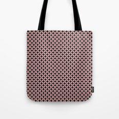 Pink Black Star Pattern Tote Bag