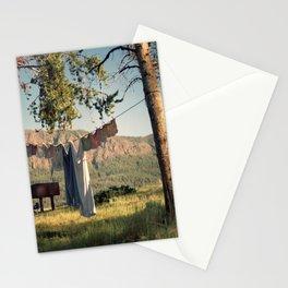 Shoshone Laundry Stationery Cards