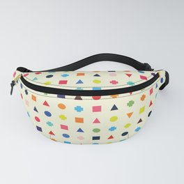 Dot Triangle Square Plus Repeat Fanny Pack