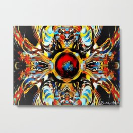 Soul Smoother Plein Air Metal Print