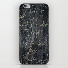 Old black marBLe iPhone & iPod Skin