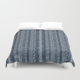 Mud Cloth Stripe Duvet Cover