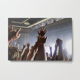 Crowd Metal Print