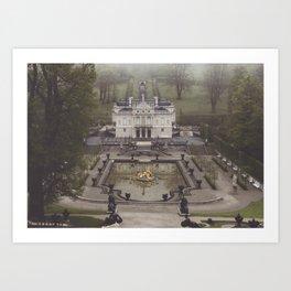 King Ludwig's little loft Art Print