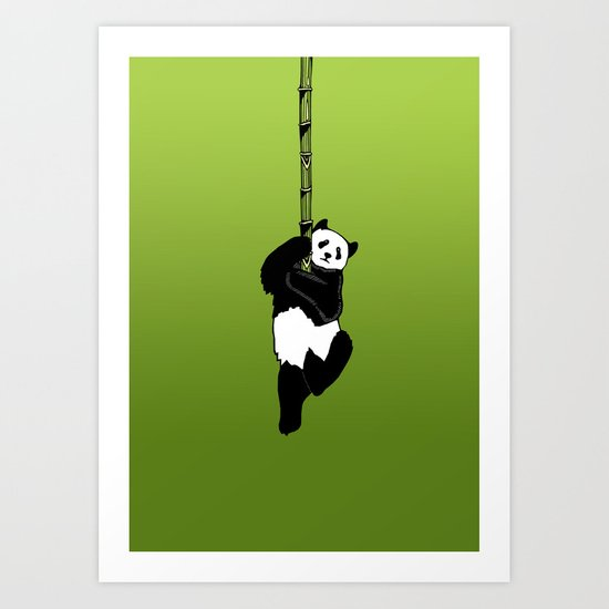 Save the Panda Art Print