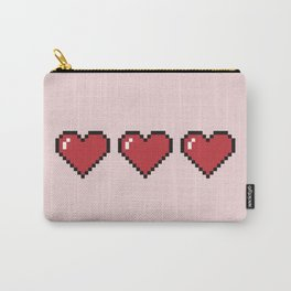 Pixel Hearts Carry-All Pouch