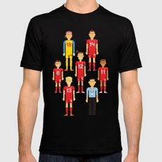 Pixel Players Canada Mens Fitted Tee LARGE Black