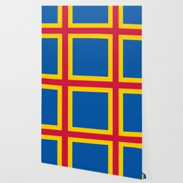 flag of Aland Wallpaper