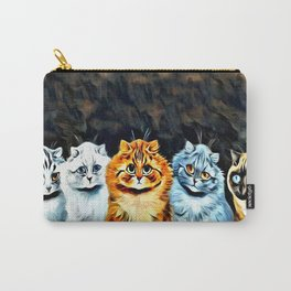 "Louis Wain's Cats ""Five Cats"" Carry-All Pouch"
