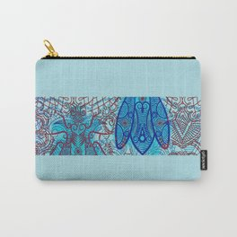 House Fly under Lace Curtains  Carry-All Pouch