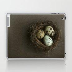 Quails Eggs and Nest Laptop & iPad Skin