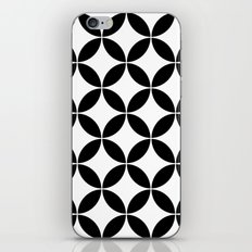 Geometric pattern (circles) iPhone & iPod Skin
